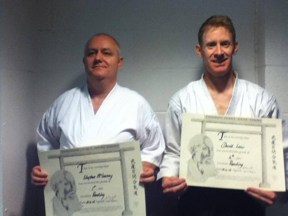 Sensei David Law & Stephen McInerney